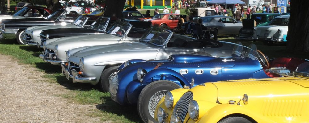 Antique Cars at Shelburne Fall Fair