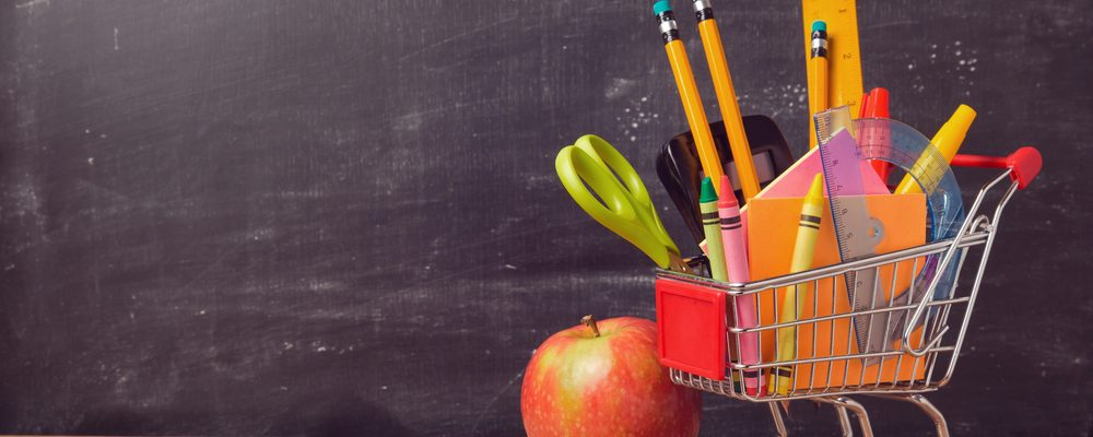 Parents review the back to school spending that they have done this year in Ontario