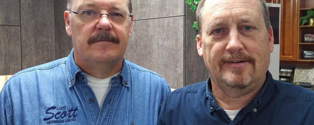 Jeff and Rick Scott of Lloyd Scott Enterprises are The Ostic Group Local Heroes for December