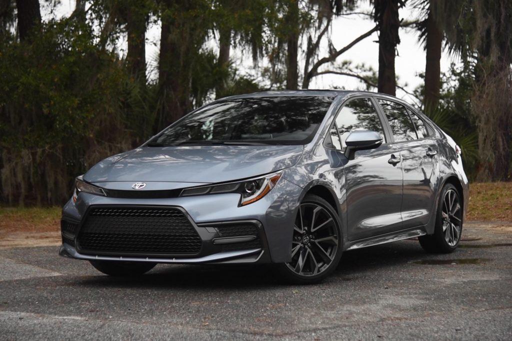 Grey 2020 Toyota Corolla