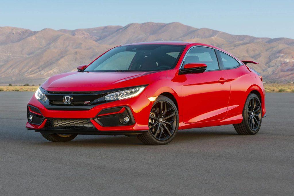 Red 2020 Honda Civic